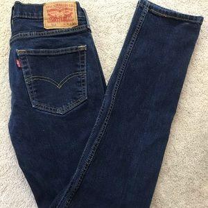 Levi's 511 Dark Wash Jeans